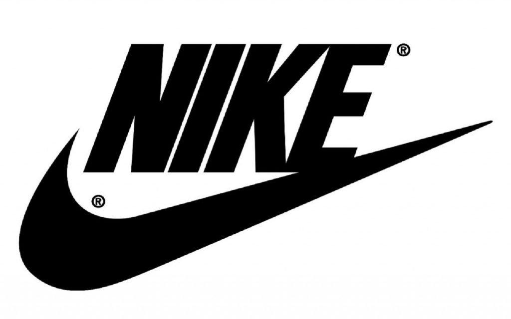 Isologotipo de Nike de su identidad corporativa