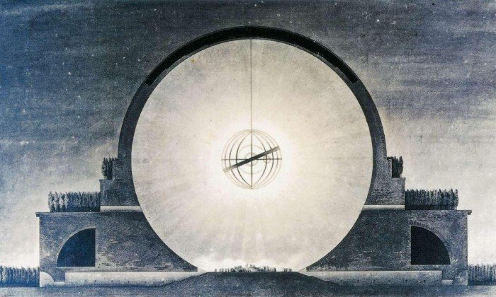 Cenotafio-Isaac-Newton.E-L-Boullée.1784.xombit-2